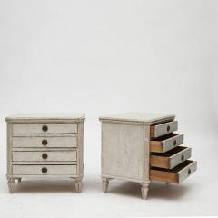 PAIR OF SMALL SWEDISH GUSTAVIAN STYLE CHEST OF DRAWERS OR NIGHTSTANDS - 2135880