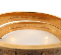 PAIR OF VICTORIAN ENAMEL HINGED BRACELETS - 1149228