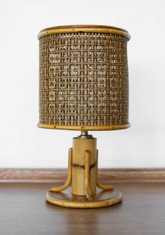 PETITE FRENCH BAMBOO LAMP - 1068138