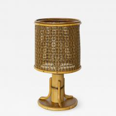 PETITE FRENCH BAMBOO LAMP - 1069017