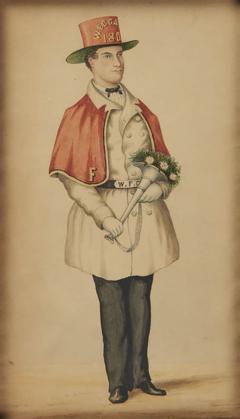 PORTRAIT OF A PHILADELPHIA FIREMAN - 1338201