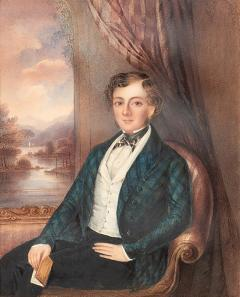 PORTRAIT OF A YOUNG GENTLEMAN SEATED - 1223974