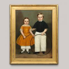 PORTRAIT OF CHARLES FITCH AND SISTER - 1856512