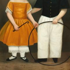 PORTRAIT OF CHARLES FITCH AND SISTER - 1856514