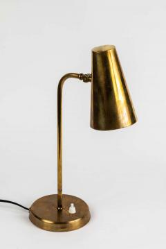 Paavo Tynell 1950s Finnish Brass Table Lamp in the Manner of Paavo Tynell - 1405117