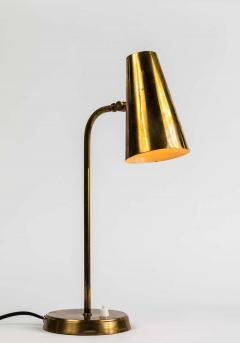 Paavo Tynell 1950s Finnish Brass Table Lamp in the Manner of Paavo Tynell - 1405123