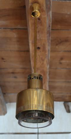 Paavo Tynell A pair of brass and glass chandeliers by Paavo Tynell Italy 50 - 993342