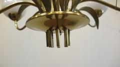 Paavo Tynell Brass Chandelier by Paavo Tynell For Limburg - 1570495