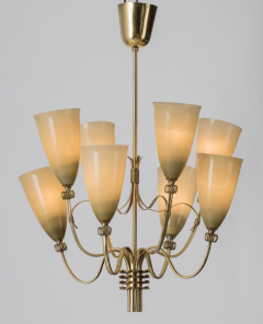 Paavo Tynell Chandelier by Paavo Tynell for Taito Oy - 1909701
