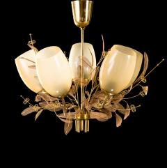 Paavo Tynell Five Arm Chandelier Model 9029 5 - 535566