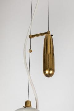 Paavo Tynell Pair of 1940s Paavo Tynell A1942 Counterweight Pendants for Idman Oy - 1097743