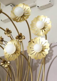Paavo Tynell Pair of Floral 9 Light Sconces in the Style of Paavo Tynell - 1528518