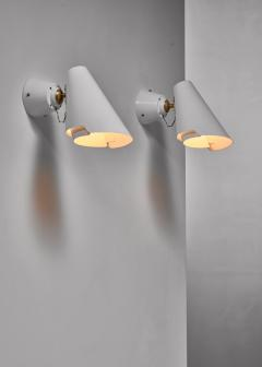 Paavo Tynell Pair of Paavo Tynell model 2351 wall lamps for Idman Finland - 1702381