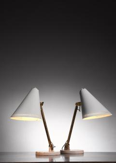 Paavo Tynell Pair of Paavo Tynell table lamps for Taito - 1594715