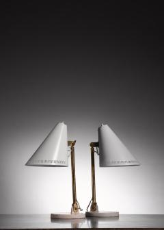 Paavo Tynell Pair of Paavo Tynell table lamps for Taito - 1594716
