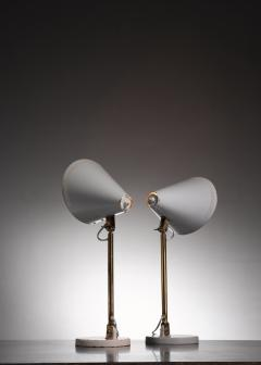 Paavo Tynell Pair of Paavo Tynell table lamps for Taito - 1594717