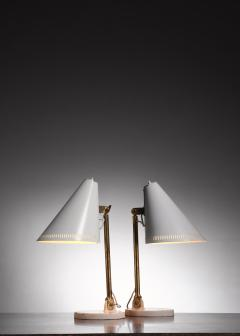 Paavo Tynell Pair of Paavo Tynell table lamps for Taito - 1594718
