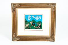 Pablo Picasso Dancing Animals Linocut - 1128730