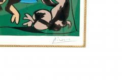 Pablo Picasso Dancing Animals Linocut - 1128733