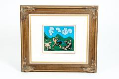 Pablo Picasso Dancing Animals Linocut - 1128738