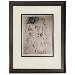Pablo Picasso Pablo Picasso Etching 2 - 1634317