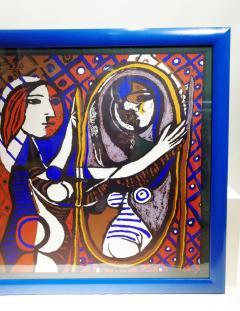 Pablo Picasso Picasso Unique Framed Scarf circa 1960 - 2003291