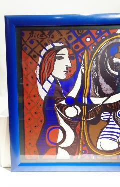 Pablo Picasso Picasso Unique Framed Scarf circa 1960 - 2003294