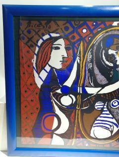 Pablo Picasso Picasso Unique Framed Scarf circa 1960 - 2003295