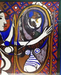Pablo Picasso Picasso Unique Framed Scarf circa 1960 - 2003296