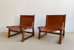 Paco Mu oz Pair of Paco Mu oz Sling chairs - 1979561
