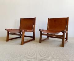 Paco Mu oz Pair of Paco Mu oz Sling chairs - 1979562