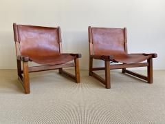 Paco Mu oz Pair of Paco Mu oz Sling chairs - 1979563
