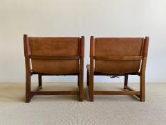 Paco Mu oz Pair of Paco Mu oz Sling chairs - 1979564