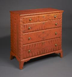 Paint Decorated Chest of Drawers from the Oley Valley - 341008