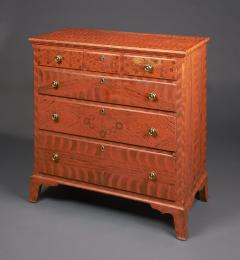 Paint Decorated Chest of Drawers from the Oley Valley - 341009