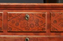 Paint Decorated Chest of Drawers from the Oley Valley - 341010