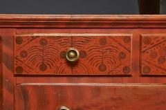 Paint Decorated Chest of Drawers from the Oley Valley - 341011