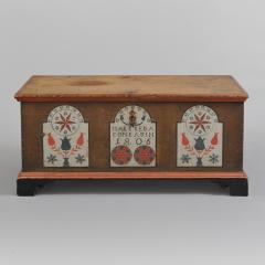 Paint Decorated Dower Chest - 308849