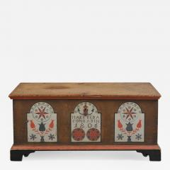 Paint Decorated Dower Chest - 310330