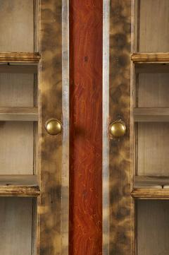 Paint Decorated Step Back Cupboard from Lancaster County - 105319