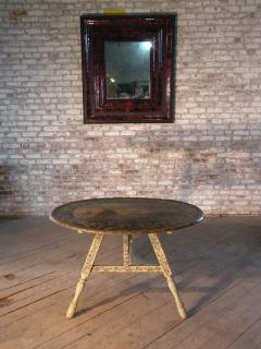 Painted 18th century Dutch Oval Hindeloopen Table - 1038519
