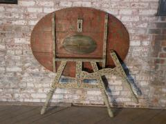 Painted 18th century Dutch Oval Hindeloopen Table - 1038523