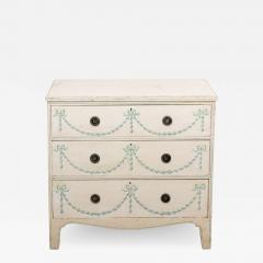 Painted French Chest of Drawers - 1662355