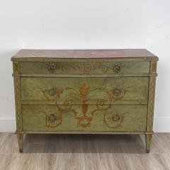 Painted Italian Chest of Drawers Circa 19th Century - 1409166