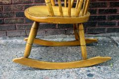 Painted Rocking Chair Original Paint New England circa 1840 - 552740