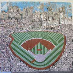 Painted Sign of Busch Stadium in St Louis - 405572