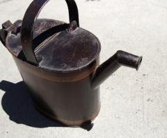 Painted Watering Can American Early 20th Century - 552731