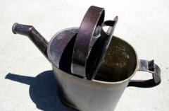 Painted Watering Can American Early 20th Century - 552733