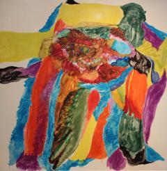 Painting by Gerald Van De Wiele 1962 - 1810500