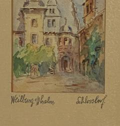 Painting of A German Town - 1637242